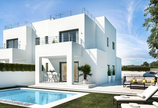 Luxury villa - New Build - Elche - El Pinet