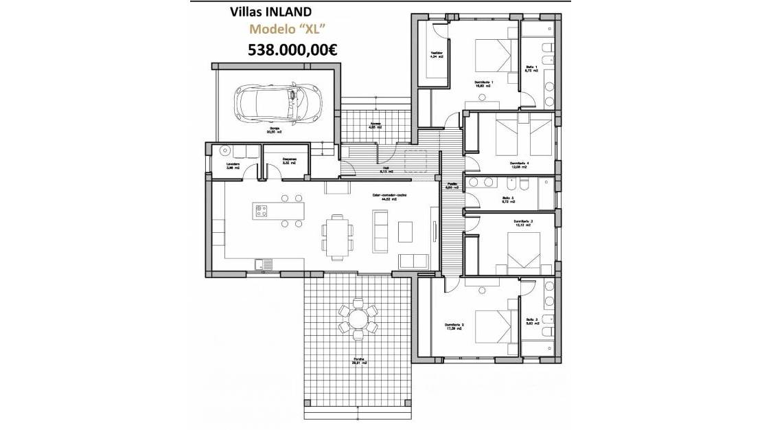 New Build - Luxury villa - Dolores