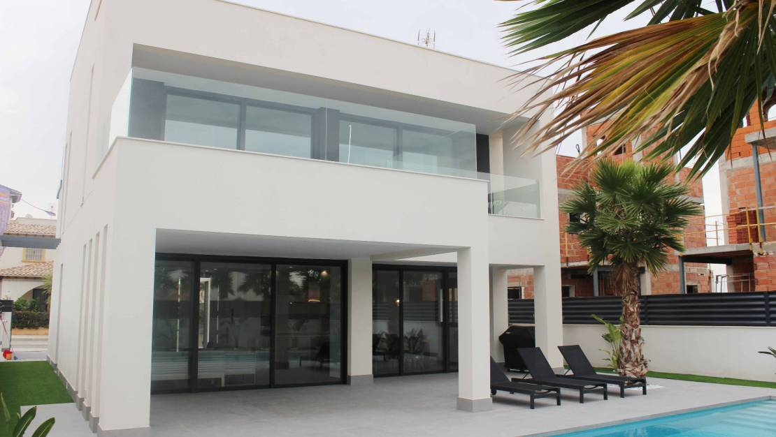 New Build - Luxusvilla - Elche - El Pinet