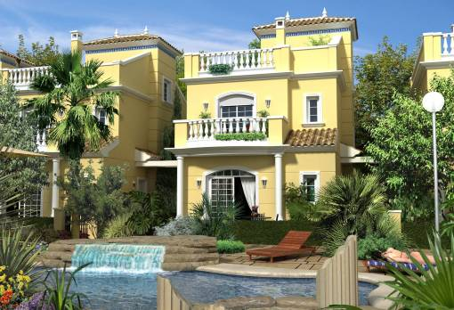 Villa - New Build - San Fulgencio - Urbrbnisation La Marina